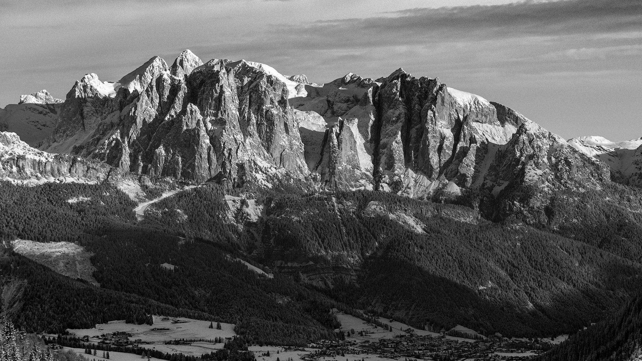 Early morning | Larsec Group, Fassa Dolomites,