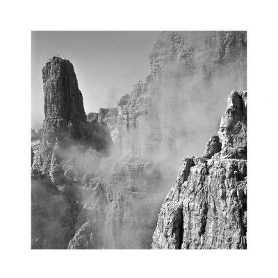 Catalogo Replica 6x6 | N.12 - Campanil Basso dalle Bocchette centrali, Dolomiti di Brenta