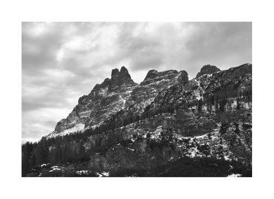 Replica Sigma Classic | N.013 | Omaggio a Buzzati - Croda da Lago, Dolomiti d'Ampezzo