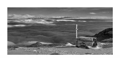 Replica Sigma Pano | 06 Sea of clouds,  P.sso Grostè 2550mt
