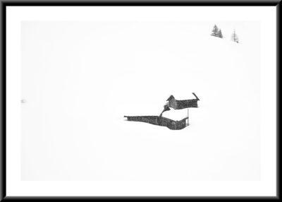 Nevicata in Val di Funes | Collezione Replica 2020
