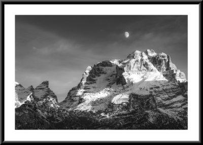 Cima Brenta and Moon | Collezione Replica 2020